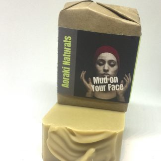 mud on your face soap bar