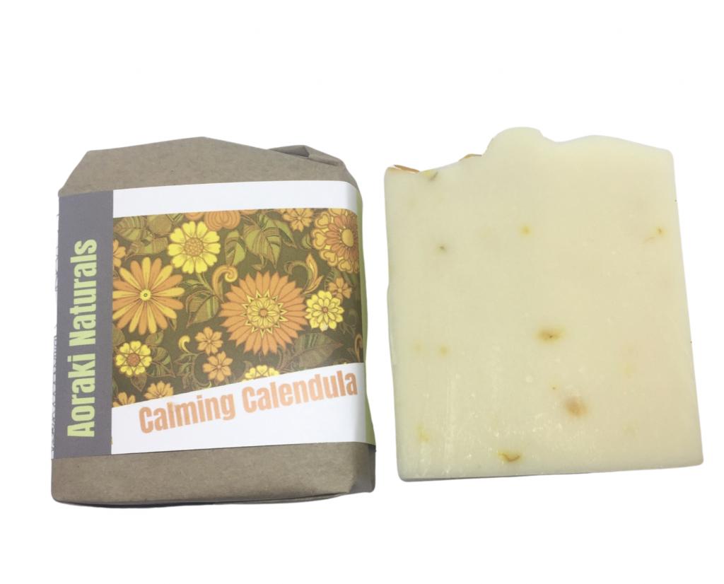 calming calendula soap